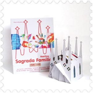 Sagrada Familia mount design made in Barcelona